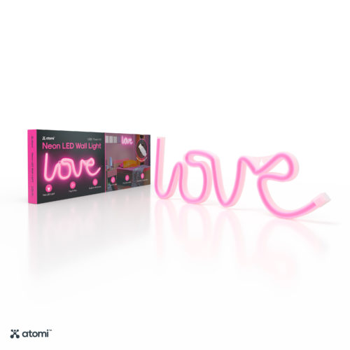 Pink Love Neon Light