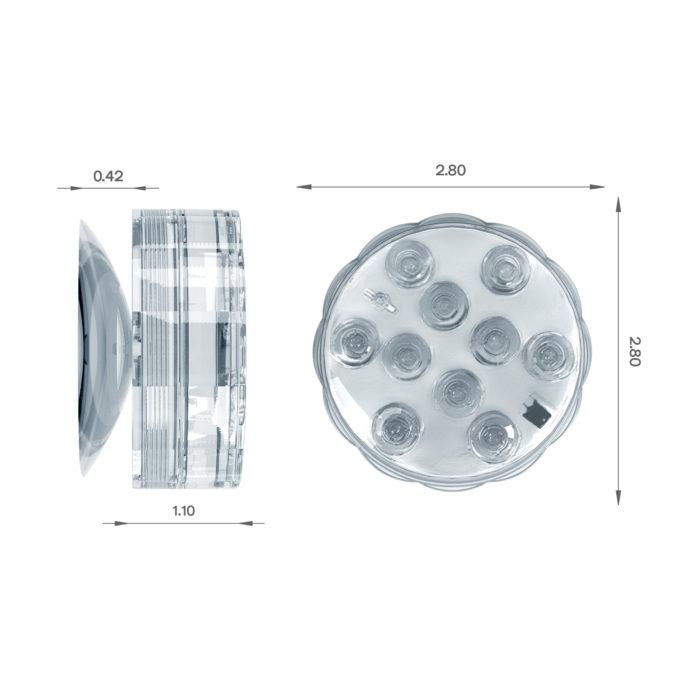 LED Bathtub Light 3